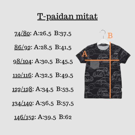 Kotimainen lasten trikoo t-paita