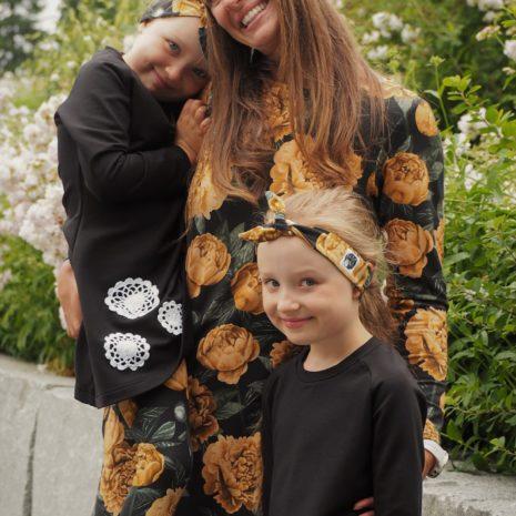 Kotimaiset lasten ja naisten vaatteet