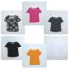 Kotimaisen t-paidan värivaihtoehdot