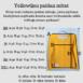 YellowQuu paidan mitat