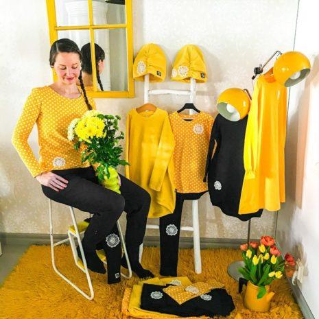 YellowQuu kotimaiset, pirteät naisten vaatteet